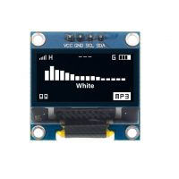 "IIC I2C OLED display 0,96"" 128x64 Bílý"