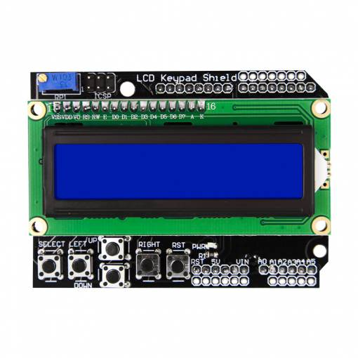 Foto - Arduino LCD Shield