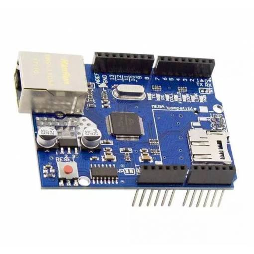 Foto - Arduino Ethernet Shield W5100 R3
