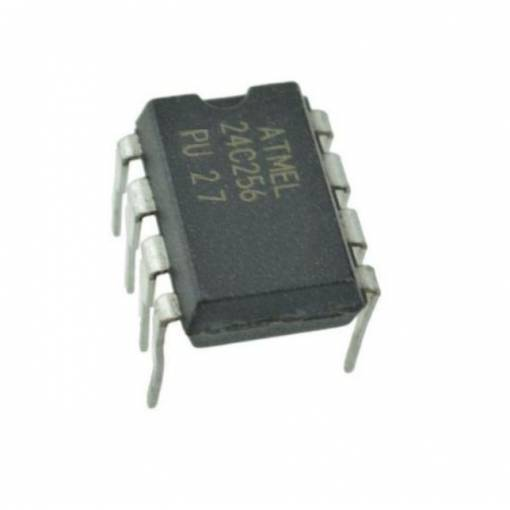 Foto - AT24C256-10PU-2.7 DIP-8 24C256 PU27 2-Wire Serial EEPROM