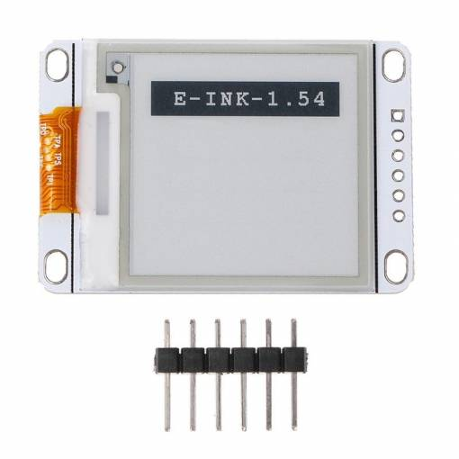 "Foto - 1,54"" E-Ink displej"