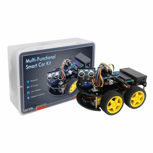 Foto - LAFVIN Smart robot Car Multifunkční Bluetooth Kit s UNO R3