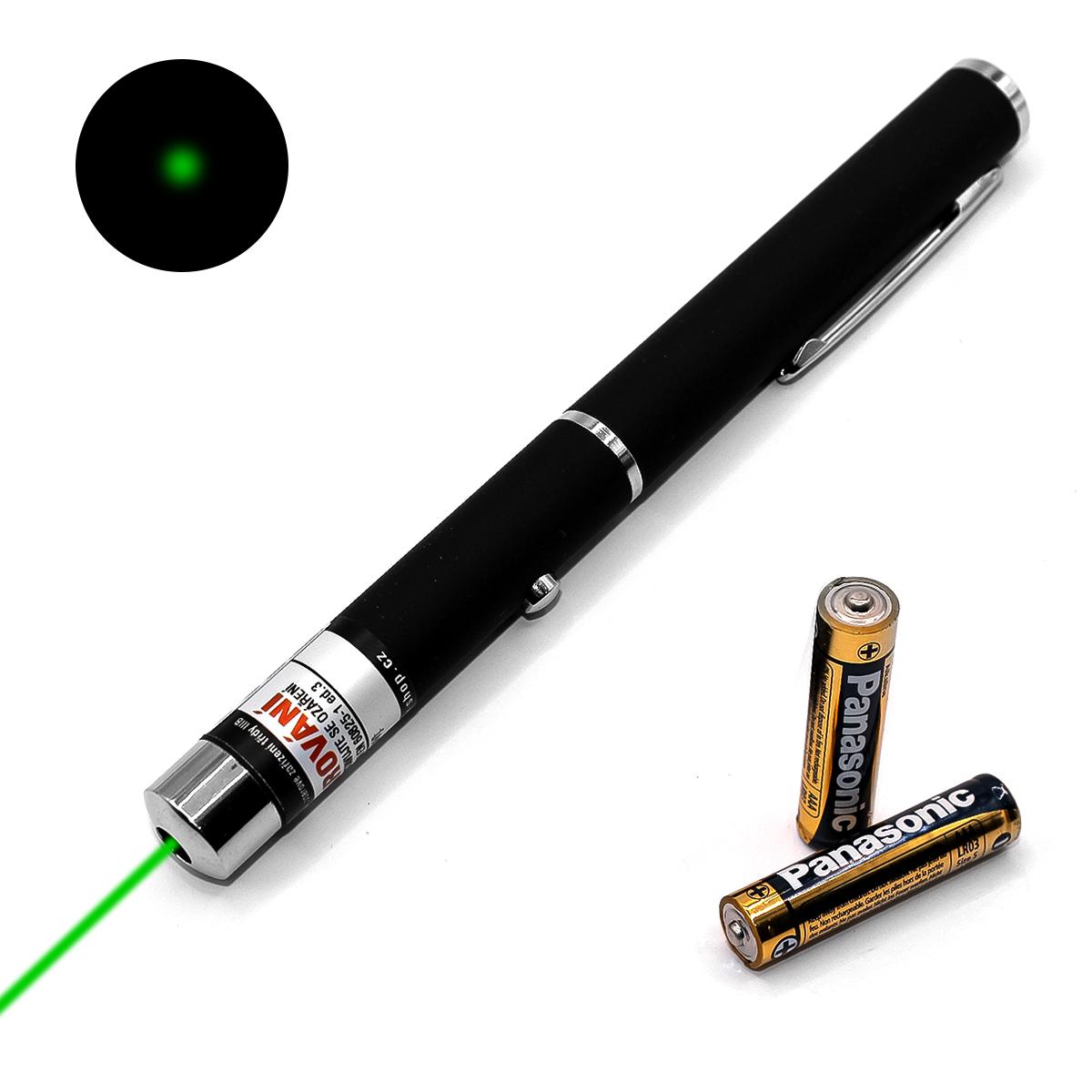 Laserové ukazovátko zelené 7mW