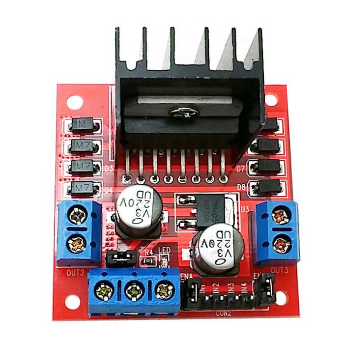 Arduino H můstek pro krokový motor L298N Dual H Most DC