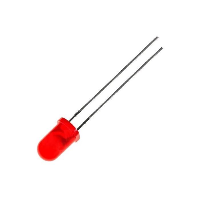 LED dioda červená 5mm