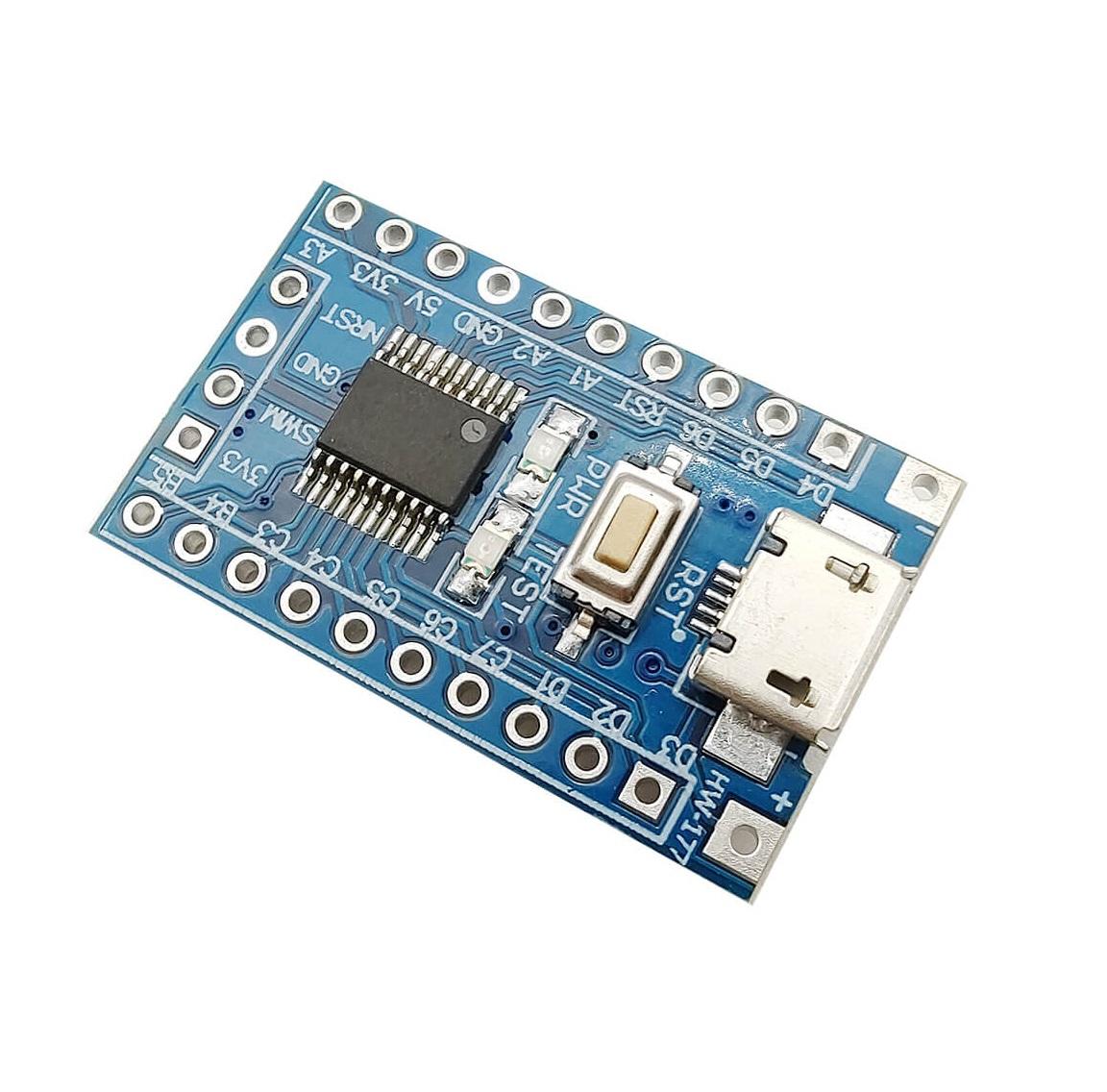 Vývojová deska ARM STM8S103F3P6 STM8
