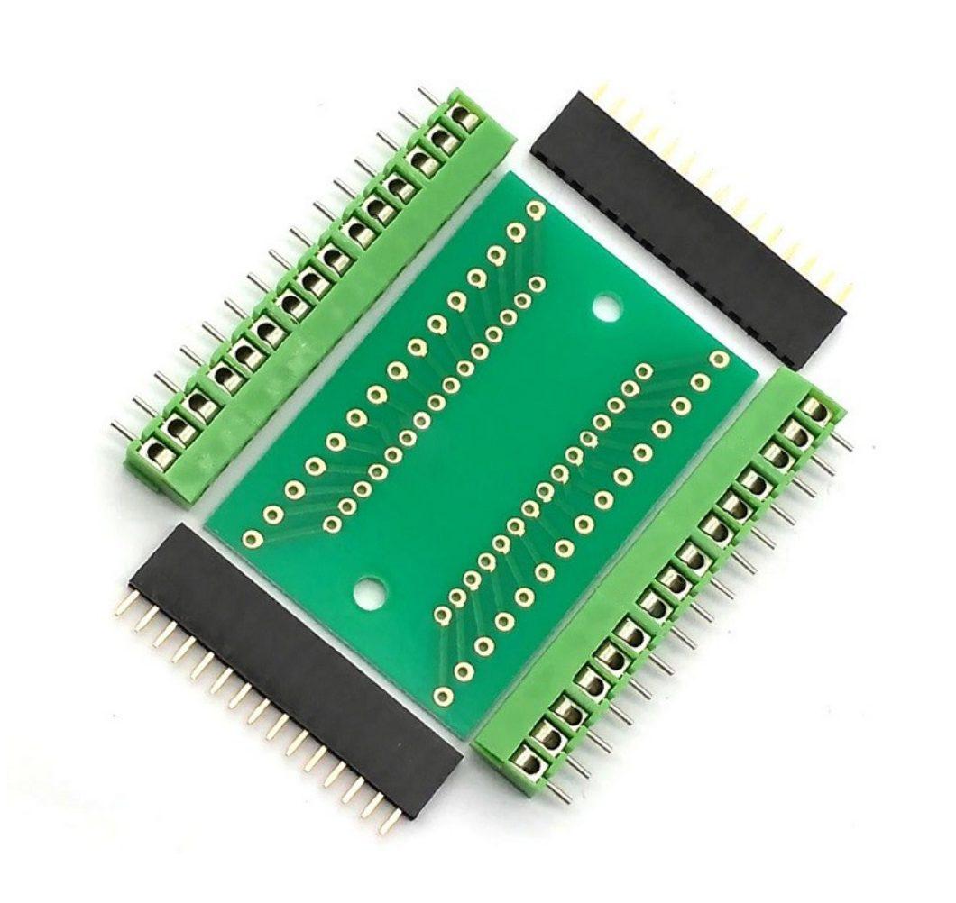 Arduino Nano terminál shield