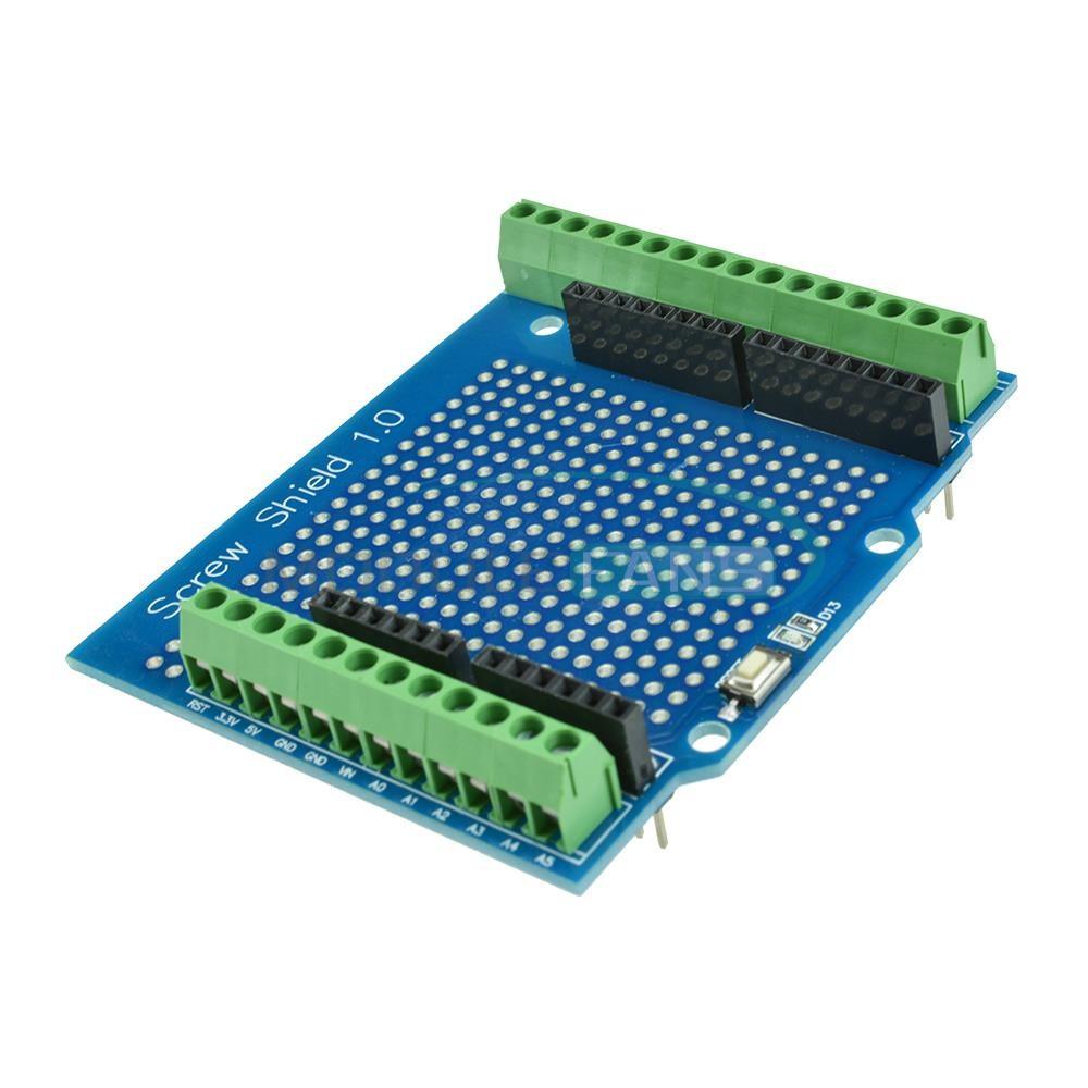 Arduino UNO terminál shield