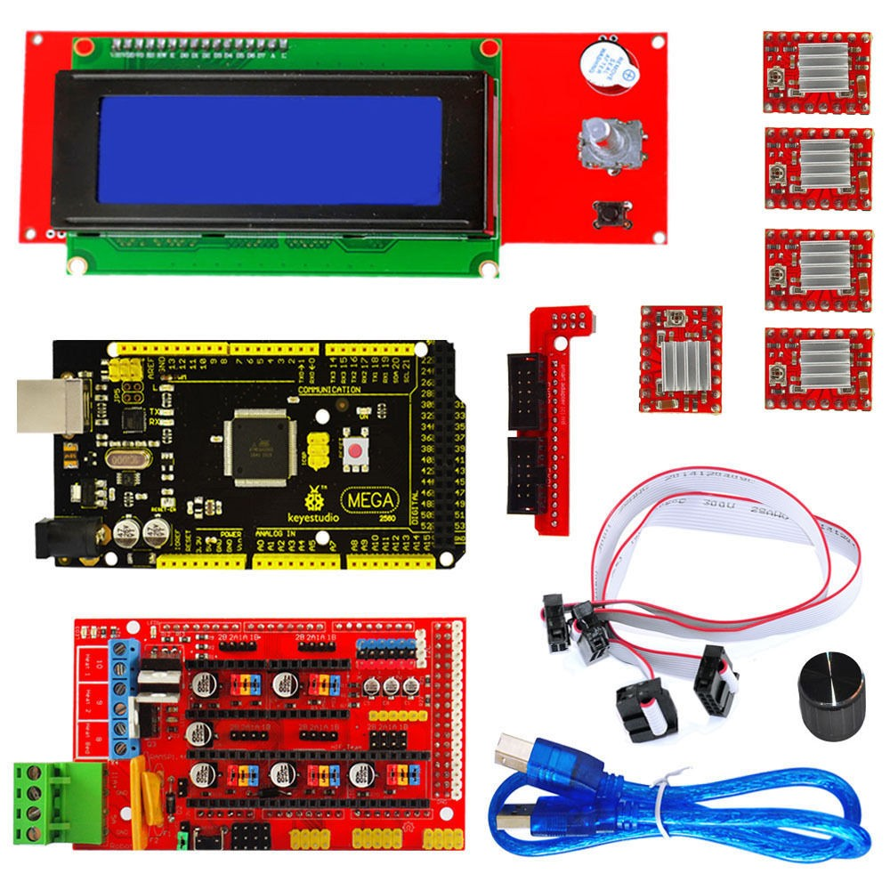 Elektronický kit pro 3D tiskárny typu Průša