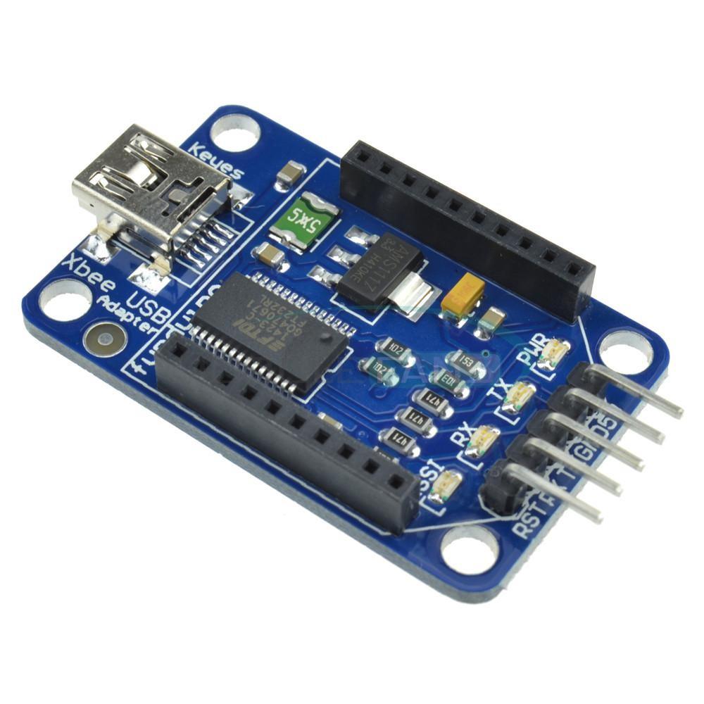 USB Xbee shield FT232RL pro Arduino