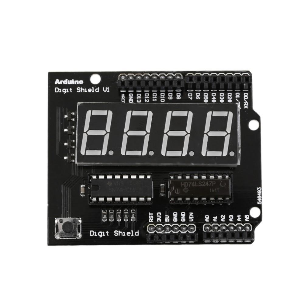 """Arduino Digit Shield 0.56"""" Červené Podsvícení"""