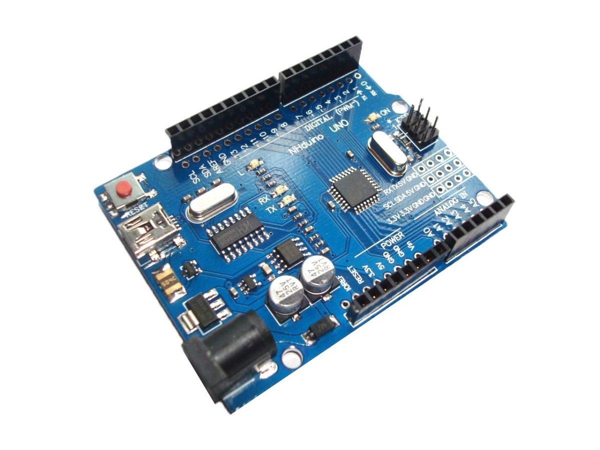 Klon Arduino UNO R3 ATmega328P CH340 mini USB