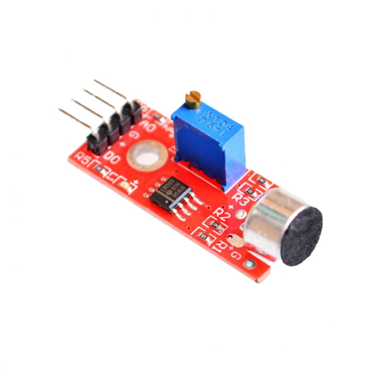 Modul Mikrofonu s Analogovým Výstupem pro Arduino Vysoká citlivost
