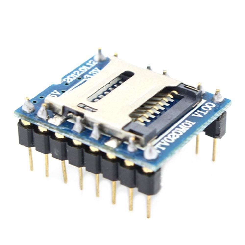 Audio MP3 Přehrávač pro Arduino Modul WTV020-SD-16P