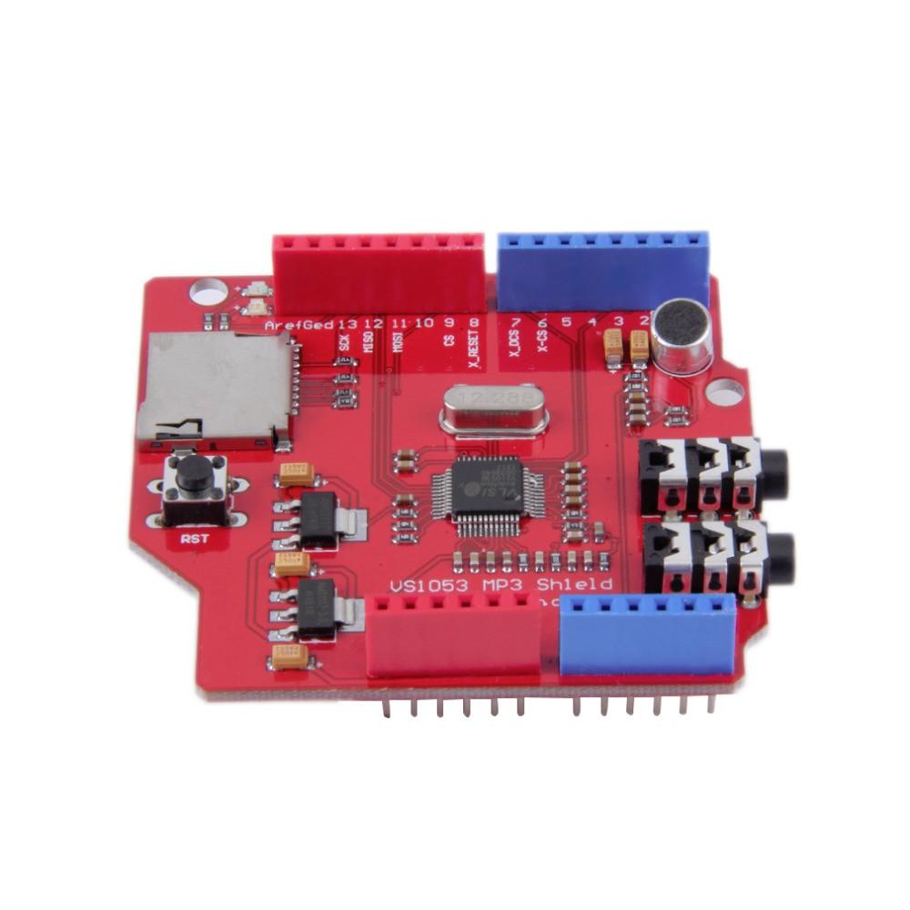 Audio Shield VS1053B MP3 s TF Čtečkou pro Arduino