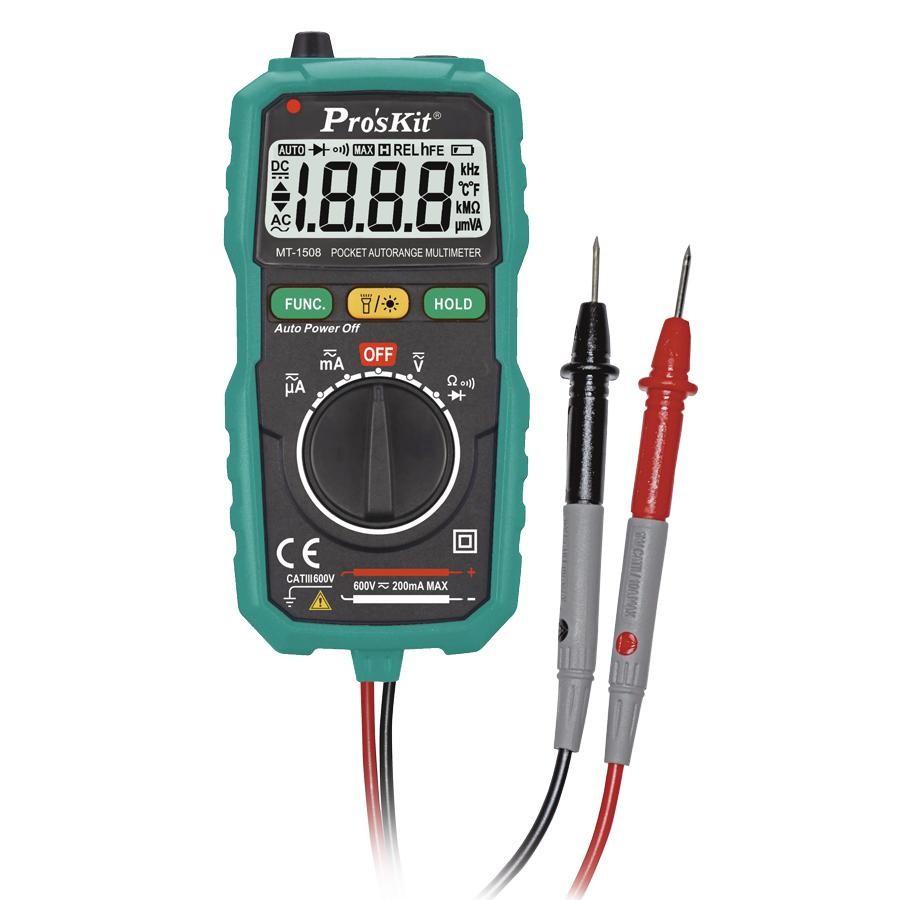 Digitální multimetr PROSKIT MT-1508