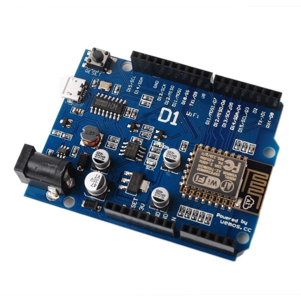 ESP8266 ESP-12E OTA WeMos D1 CH340 WiFi