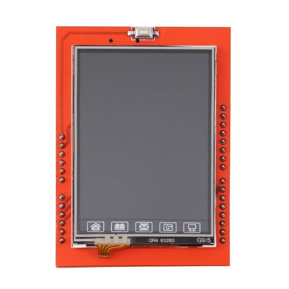 "Shield LCD TFT 2.4"" displej dotykový pro Arduino UNO"