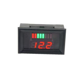 12 V Voltmetr LED Ukazatel Kapacity Baterie pro Olověné Akumulátory