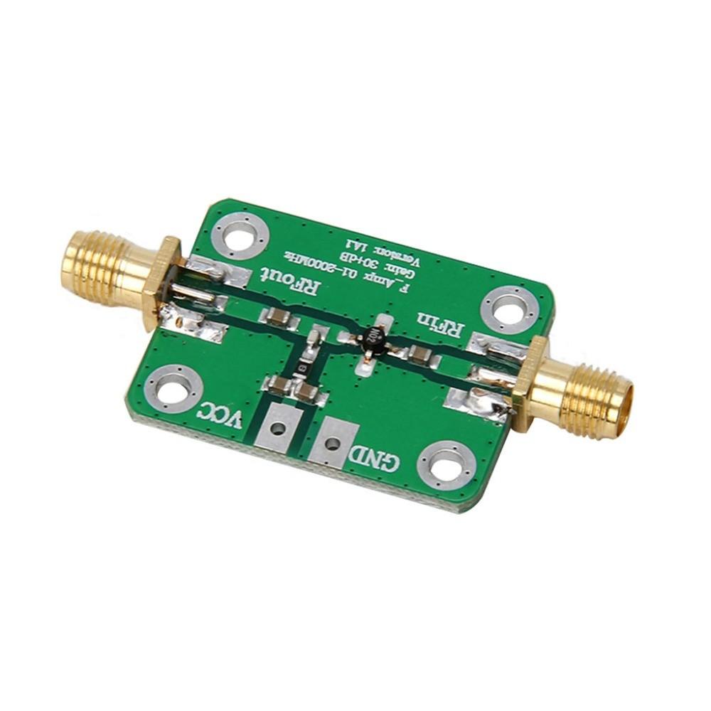 Širokopásmový zesilovač RF 30 dB LNA 0.1-2000MHz