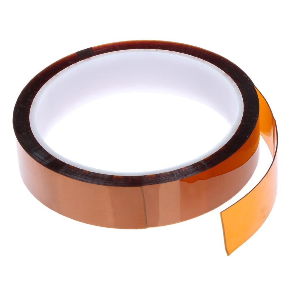 Kaptonová páska, tepelně odolná - zlatá 10 mm
