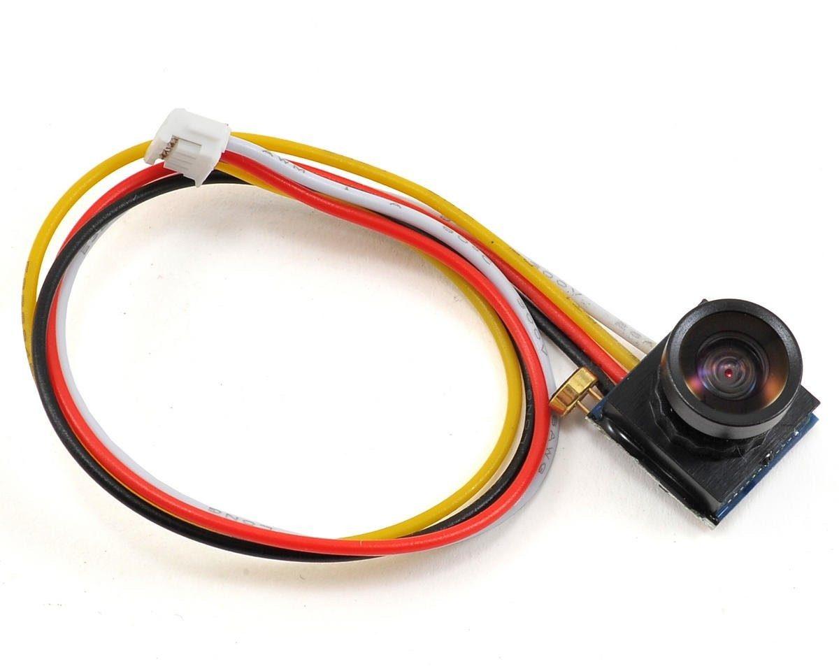 Mini NTSC kamera 600TVL FPV s širokoúhlým objektivem 1.8 mm 1/4 CMOS