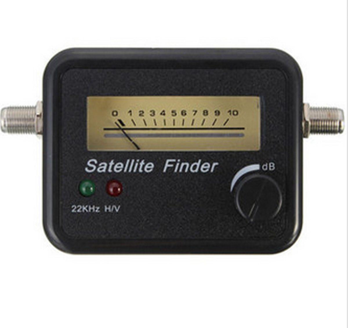 Měřič síly signálu pro satelitní antény FTA HD - digitální