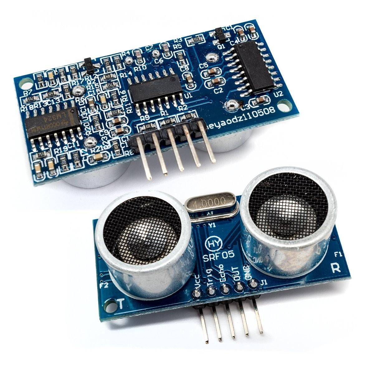 Měřič vzdálenosti ultrazvukový 5Pin HY-SRF05 pro Arduino