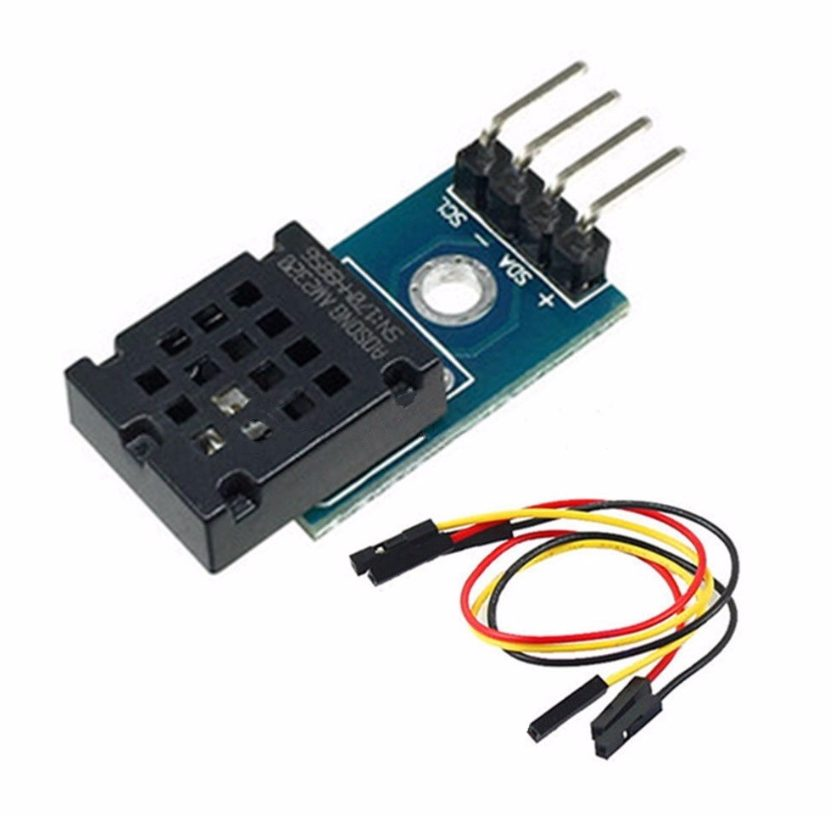 I2C teploměr a vlhkoměr DHT12 AM2320 digitální