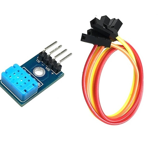 I2C teploměr a vlhkoměr DHT12 digitální