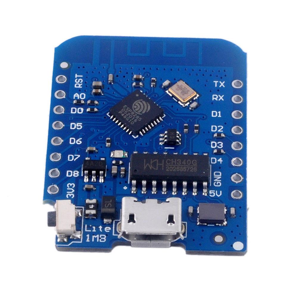 WeMos D1 mini Lite V1.0.0 wifi vývojová deska IOT 1MB Flash ESP8285