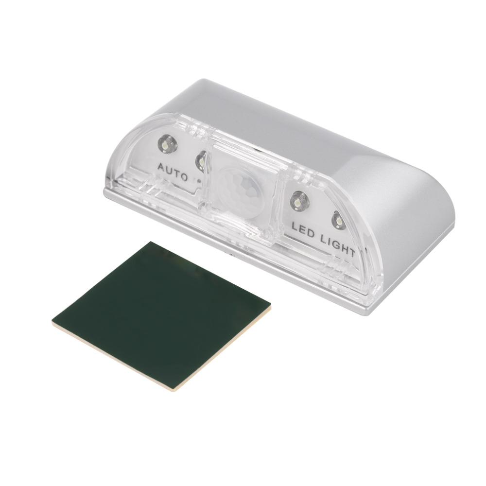 LED světlo se senzorem pohybu PIR - infračervené, bezdrátové