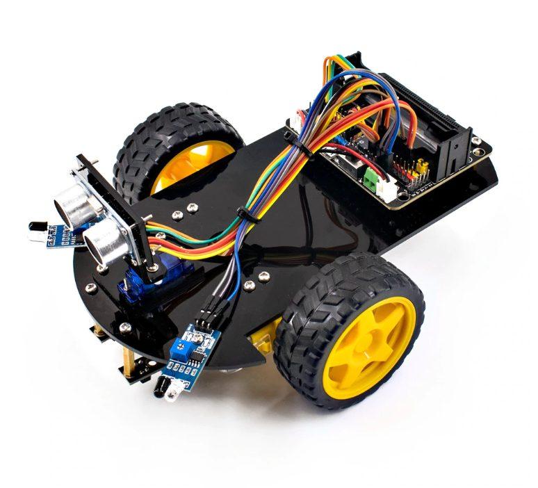 LAFVIN Smart Robot Car Micro:bit
