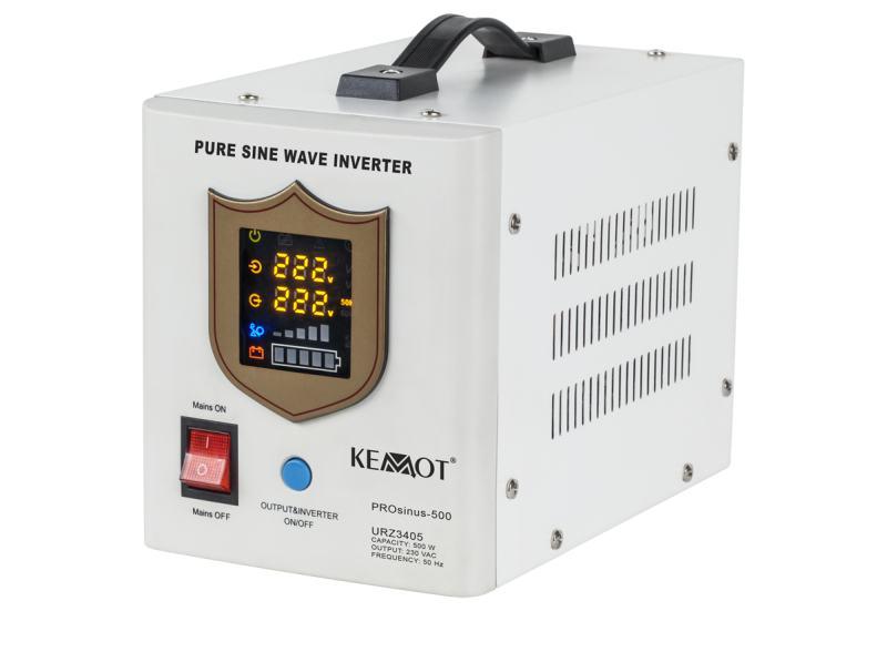 Záložní zdroj na autobaterii UPS 500W 230V