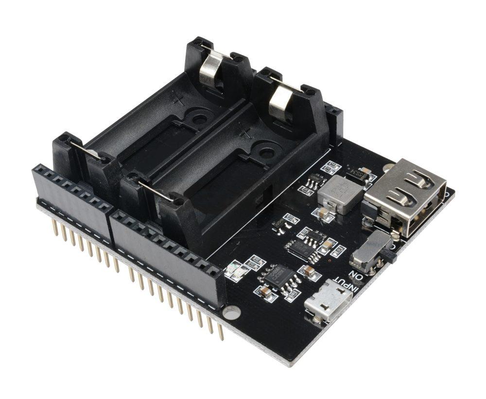 Battery Shield 16340 pro Arduino