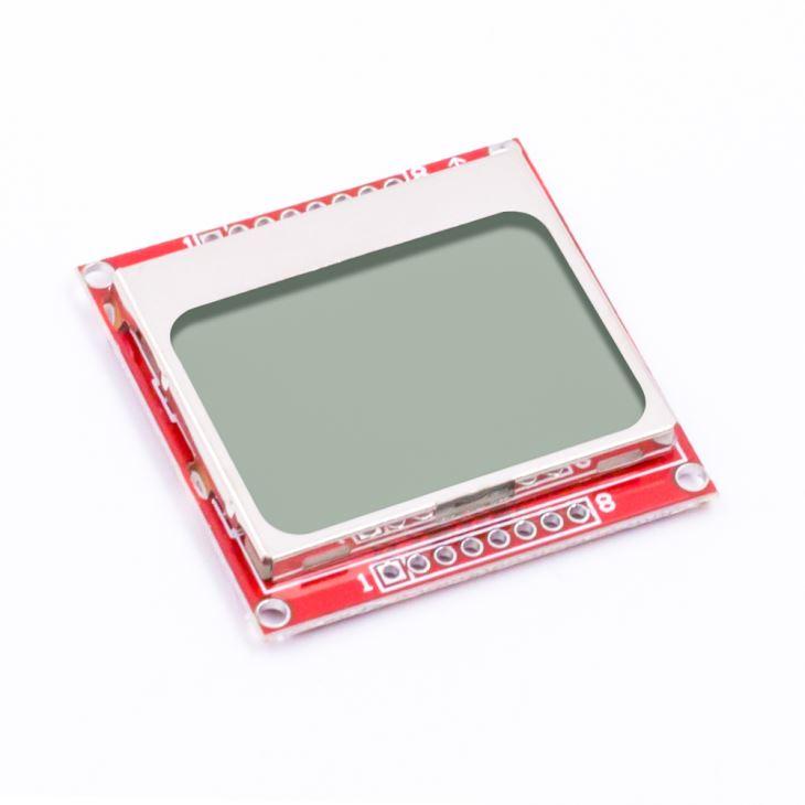 LCD displej Nokia 5110 - bílé podsvícení
