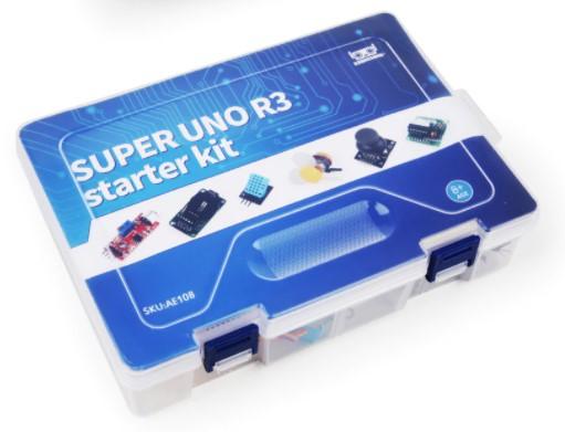 SUPER starter kit s precizním klonem UNO R3