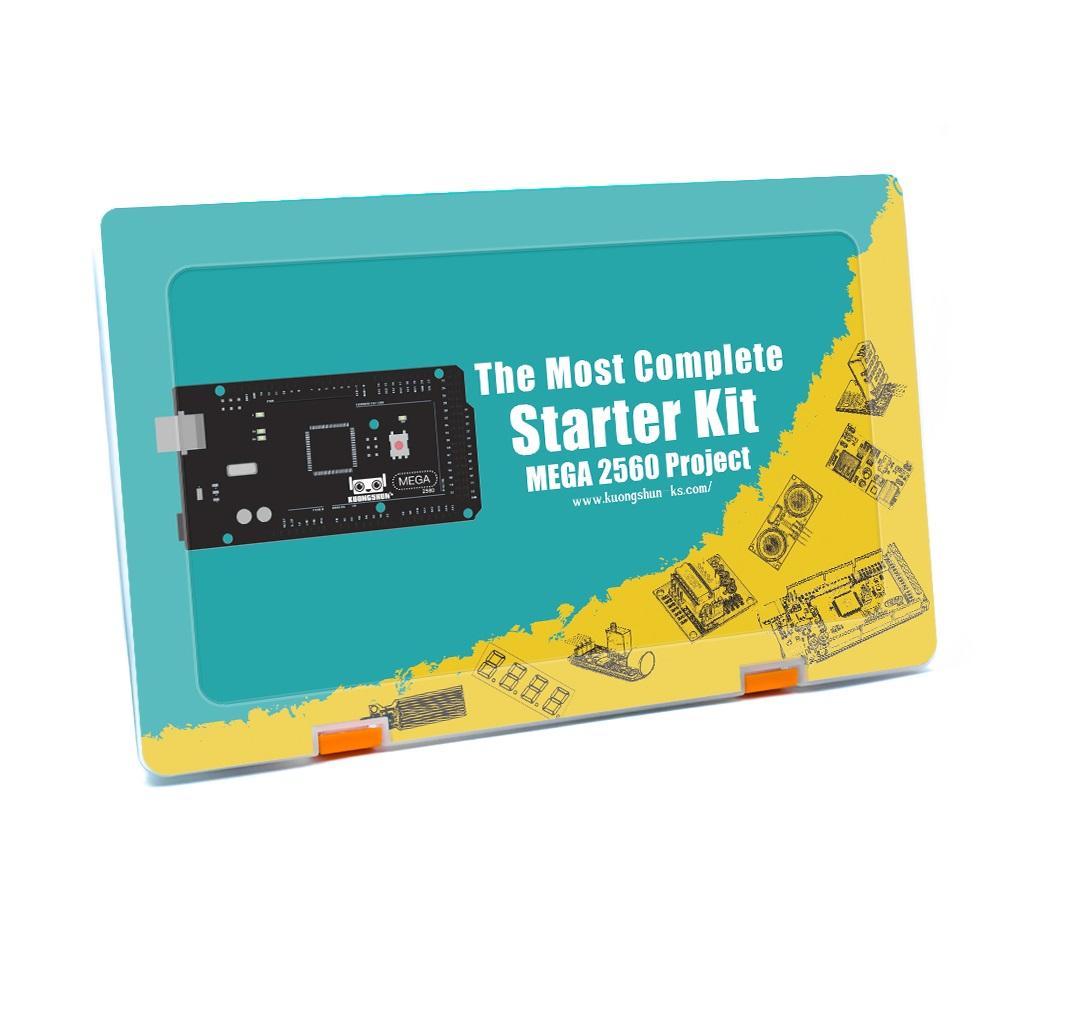 Největší starter kit s precizním klonem MEGA 2560