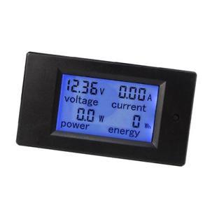 LCD digitální panelový multimetr