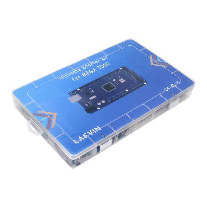 LAFVIN Vrcholná sada Arduino modulů s MEGA 2560