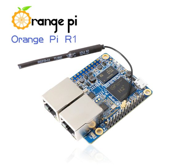Orange Pi R1: H2 + 256MB Quad Core Cortex-A7