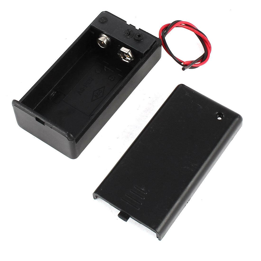 Bateriový box 9V s krytem a On-Off přepínačem