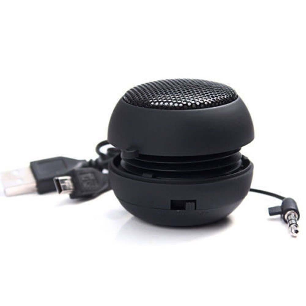 Mini reproduktor 3.5mm nabíjecí černý