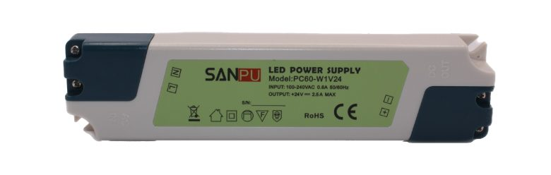 Zdroj 24V 2,5A 60W spínaný SANPU PC60-W1V24