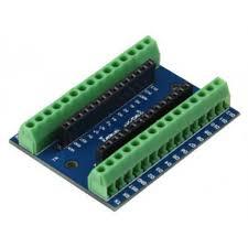 Terminál shield pro Arduino NANO