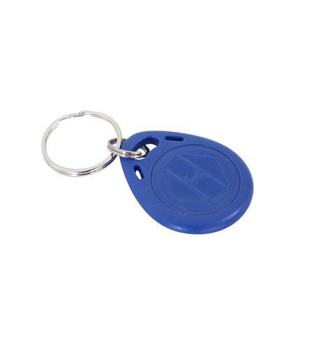 Klíčenka RFID přístupový čip přívěšek na klíče 125Khz modrý
