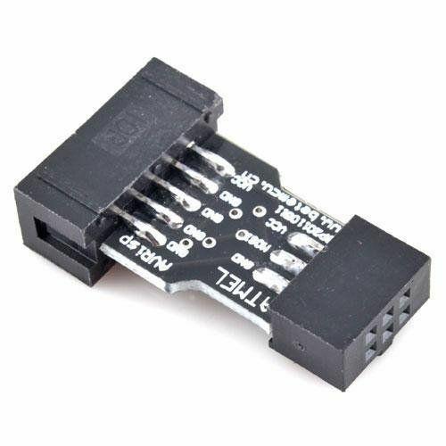 Adaptér 10 Pin na 6 Pin AVR ISP USBASP STK500