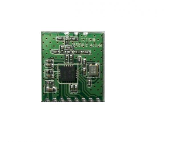 CC1101 Bezdrátový Modul 868MHZ M115 pro Přenos na Dlouhé Vzdálenosti plus Anténa