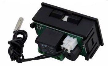 Digitální Termostat do Panelu DC12V -50-110°C W1209WK