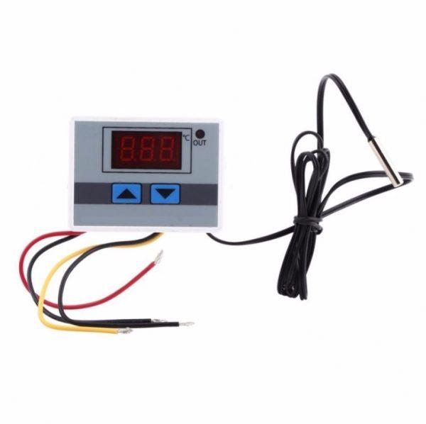 230V Digitální Termostat 10A Nástěnný -50°C až 110°C XH-W3001